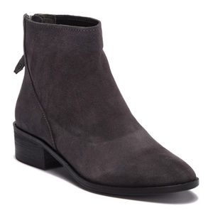 Dolce Vita Tassy Suede Ankle Boot - Anthracite 9